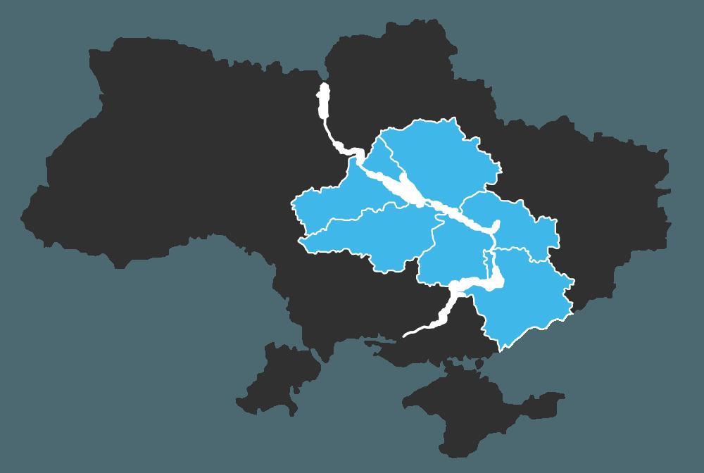 Области поставки цемента CRH