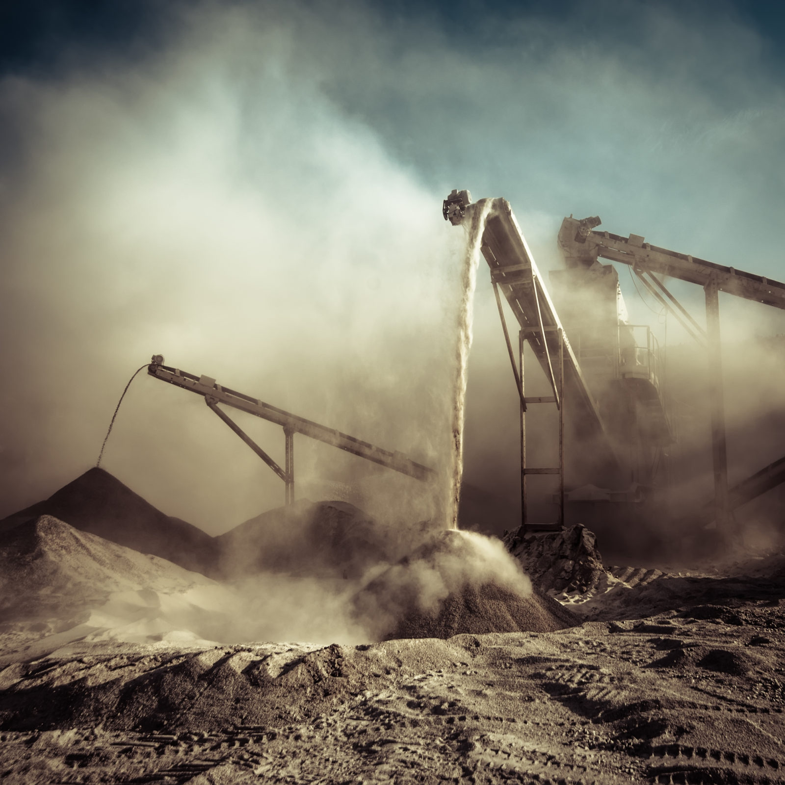 Поэтапный процесс производства цемента