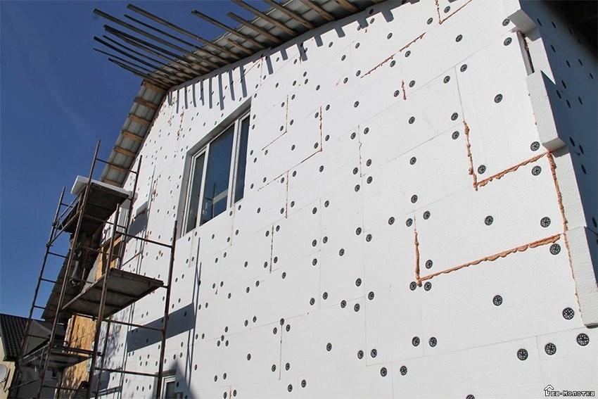 Применение пенопласта в строительстве