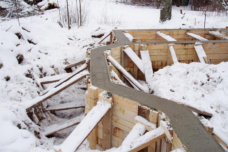 Правила и нормы бетонирования при отрицательных температурах