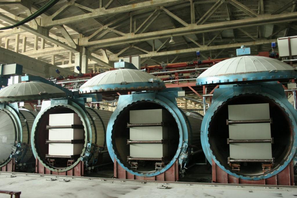 Производство автоклавных газобетонных блоков