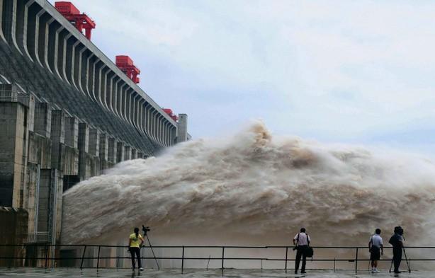 Строительство самой масштабной ГЭС в Китае