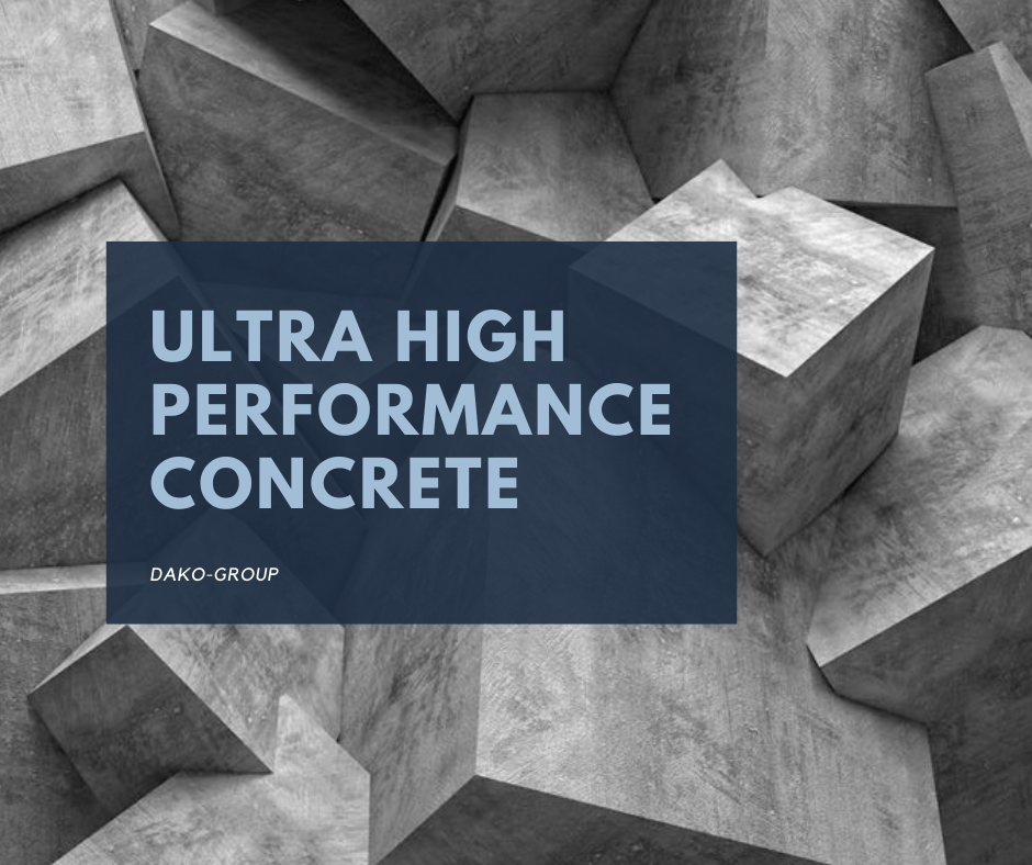 Ультра высоко эффективный бетон превосходит обычный бетон несколько раз.