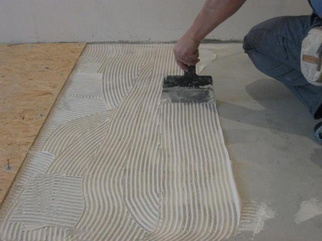 Укладка бетона на бетонный пол