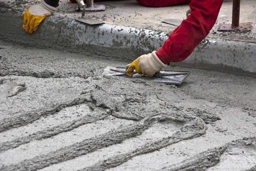Правила работы с цементно-песчаной смесью